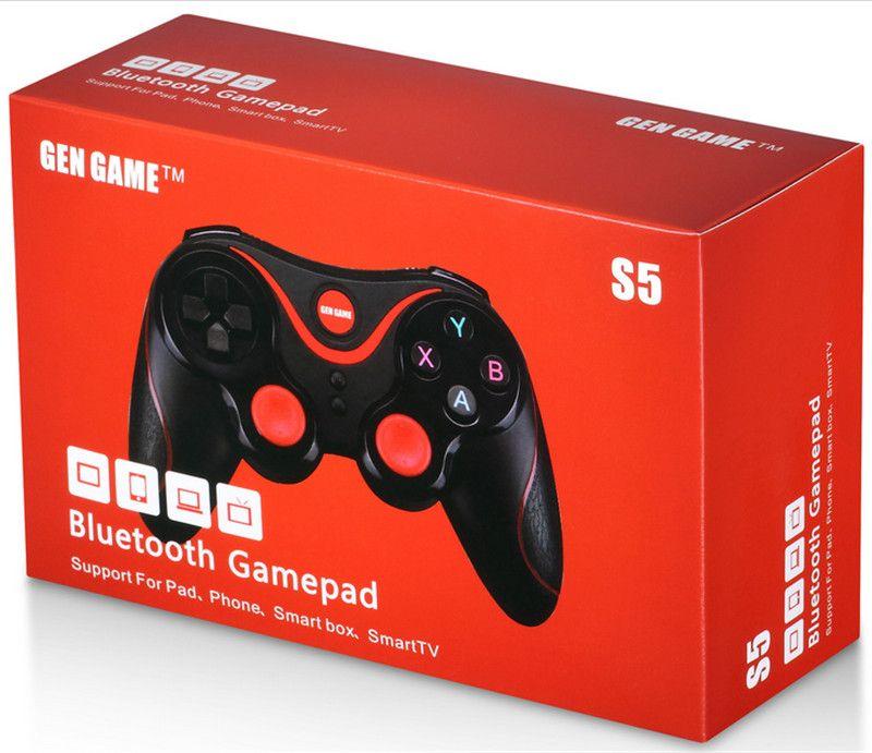 DHLS5 drahtloser Bluetooth-Game Controller Gamepad Joystick f Android Smart Phone Smart TV VR Box