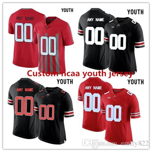 31df4f27fa1 ... Custom Youth Ohio State Buckeyes Customized College Football 1916  Throwback Ncaa Jersey Embroidery Name Number College .