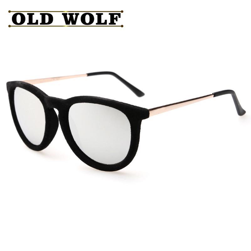 cdd188ebc4 Wholesale Sunglasses Women Brand Designer Rays Vintage Eyewear Plush  Personality Border Velvet Frame Oculos Gafas De Sol Feminino Glasses Heart  Sunglasses ...
