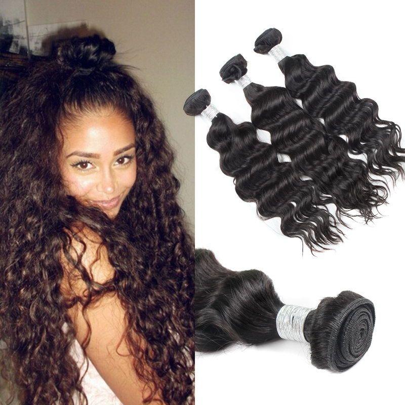 Best Quality Human Hair Bundles Malaysian Virgin Hair Natural Wave