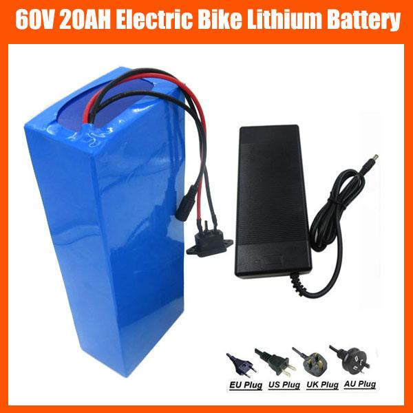 High Power 1800w 60v 20ah Battery 60v 16s Lithium Electric