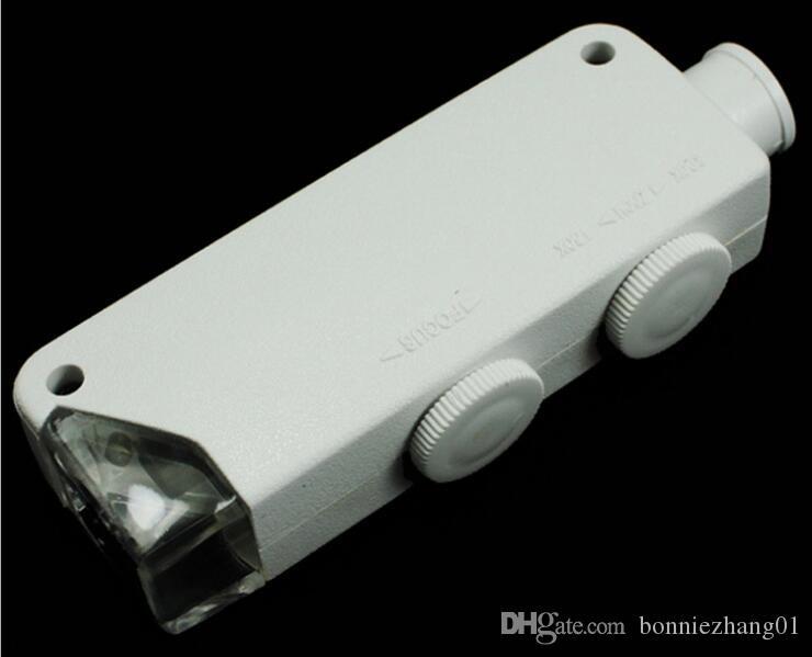 ميني جيب أدى تحديد الماس والمجوهرات متر 160-200 مرات عالية الطاقة المجهر الضوئي مضيئة التكبير مع ارتفاع