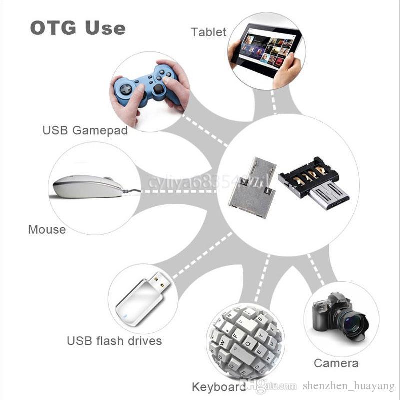 미니 USB 플래시 디스크 U 디스크 5pin 마이크로 USB OTG 케이블 어댑터 Xiaomi HTC 유니버설 스마트 폰용 변환기