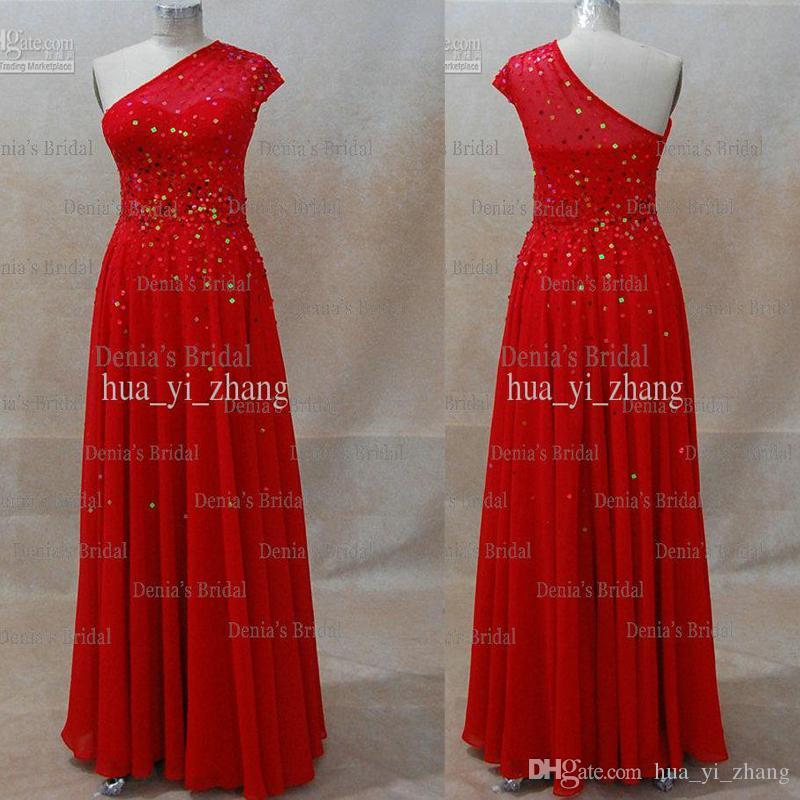 En linje One Shoulder Beaded Miranda Kerr David Jones Red Carpet Celebrity Dresses Dhyz 01 Köp 1 Få 1 Gratis halsband