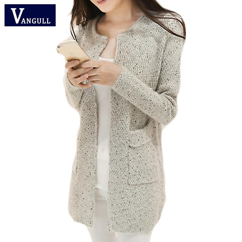 2019 Wholesale New Spring Winter Women Casual Long Sleeve Knitted Cardigans  2016 Autumn Crochet Ladies Sweaters Fashion Tricotado Cardigan From  Xiamen2013 289be53e7
