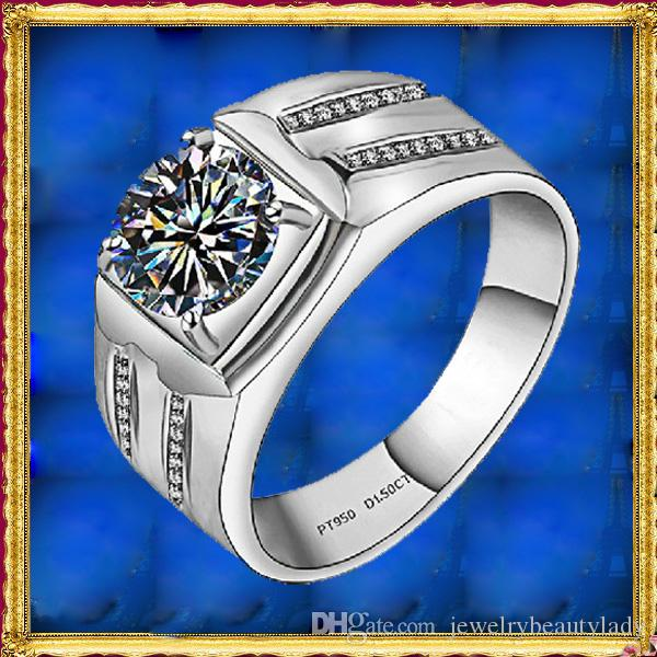 2018 2017 Hot Foreverbeauty Trend Men 0 5ct Diamond Simple Design