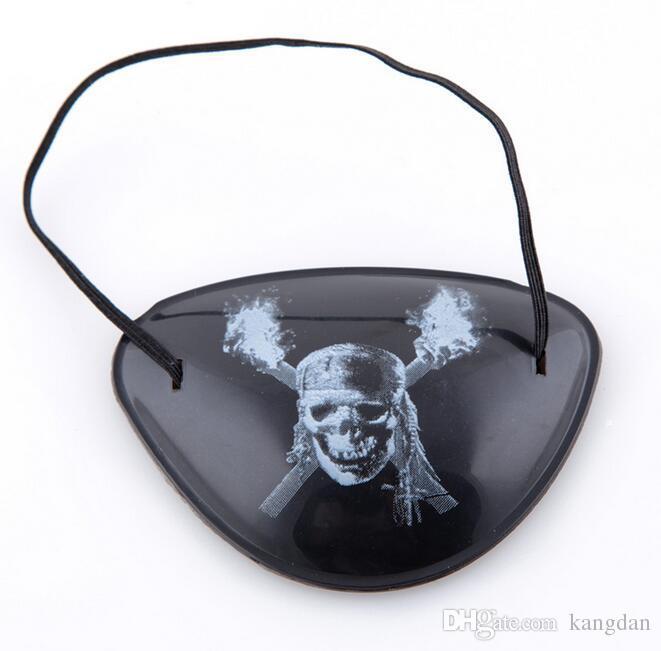 Halloween cosplay Pirate Eye Patch Skull Crossbone Halloween Festival Party Bomboniera Costume Kids Toy Eyepatch maschere di partito