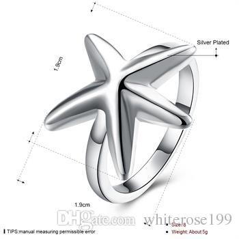 도매 - 소매 최저 가격 크리스마스 선물, 무료 배송, 새로운 925 실버 패션 반지 yR109
