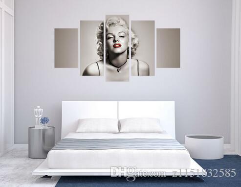 Miglior soggiorno moderno camera da letto home decor movie Star sexy marilyn monroe immagine arte della parete stampa su tela art