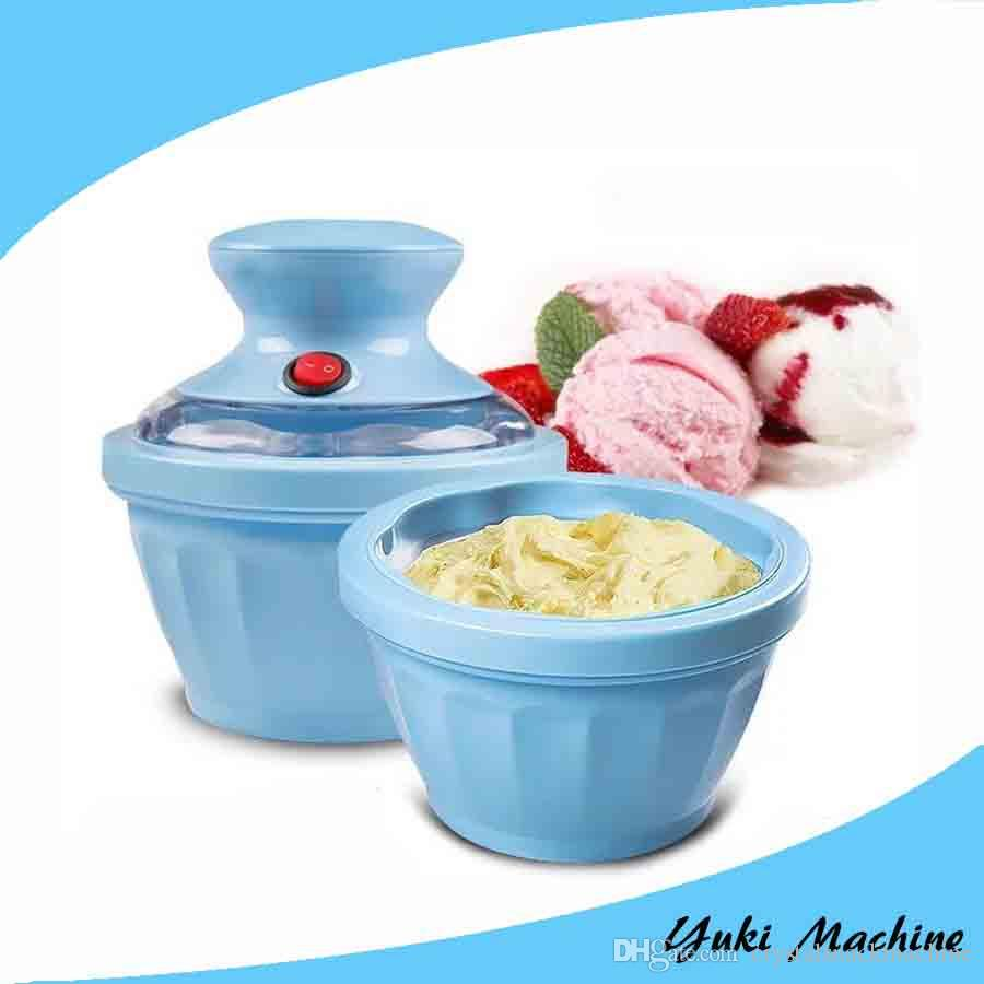 Home Ice Cream Maker Part - 25: 2017 Popular Portable Ice Cream Maker Mini Home Ice Cream Making Machine  Ice Cream Machines Prices With Ce From Crystalsnackmachine, $90.46 |  Dhgate.Com