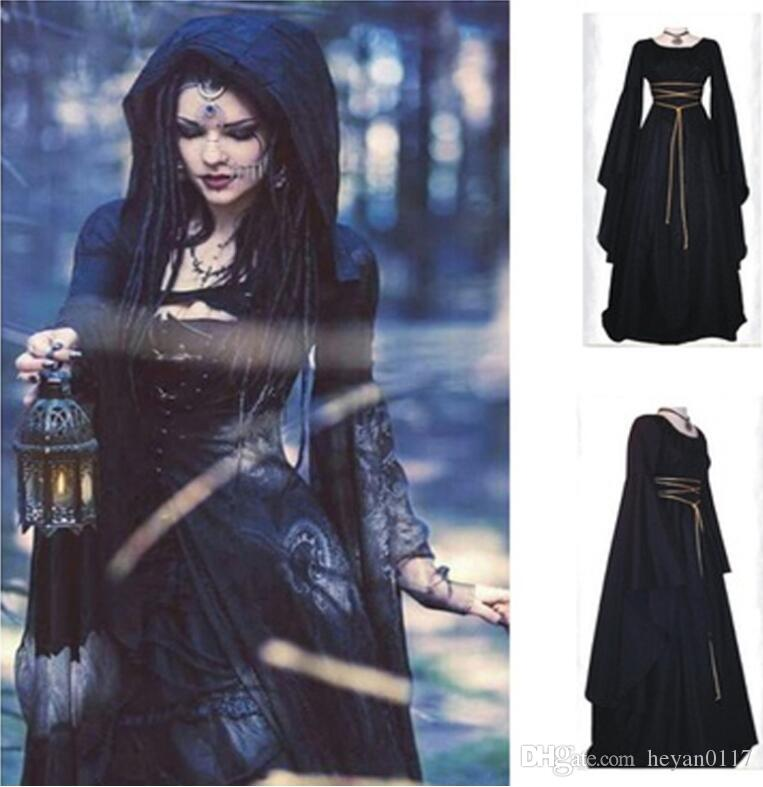 Compre Mulheres Vestido Medieval Renascença Estilo Vintage Vestido