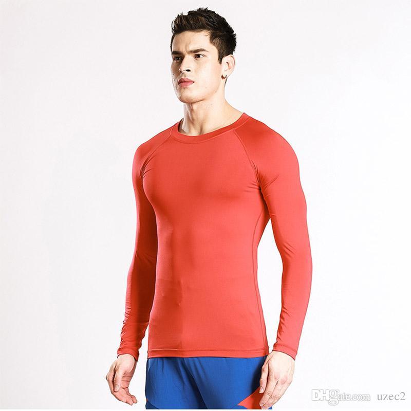 유럽과 미국의 피트니스 T 셔츠 짧은 소매의 통기성 피트니스 단계 코치 옷, 남성과 여성을 통해 빠른 남성 스포츠 셔츠,