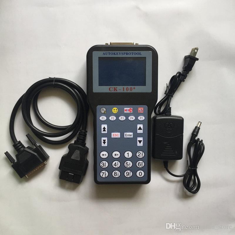 2019 Nuovo CK100 programmatore chiave auto CK100 V46.02 V99.99 OBD2 chiave transponder di ultima generazione Silca FFS