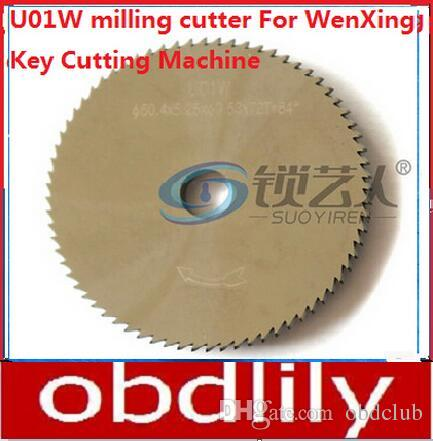 WenXing Tungsten steel double angle cutter U01W milling cutter For 299,399,SILCA,DELTA locksmith