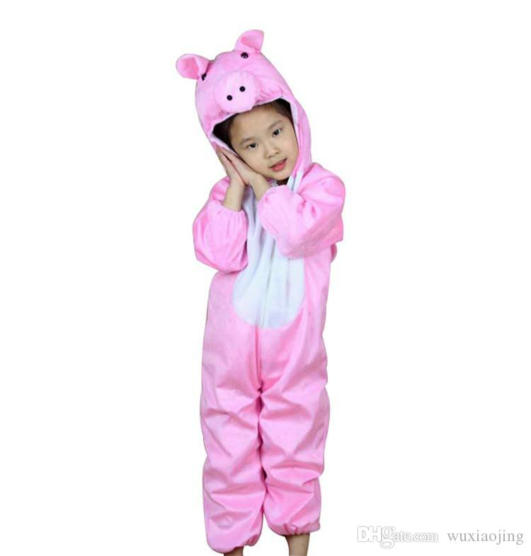 Pink Pig Costume Kid Halloween Costume Ideas Lint Perform Clothes Cosplay Animal Theme Apparel Birthday Party Supplies Online Halloween Costumes Cool Group ...  sc 1 st  DHgate.com & Pink Pig Costume Kid Halloween Costume Ideas Lint Perform Clothes ...