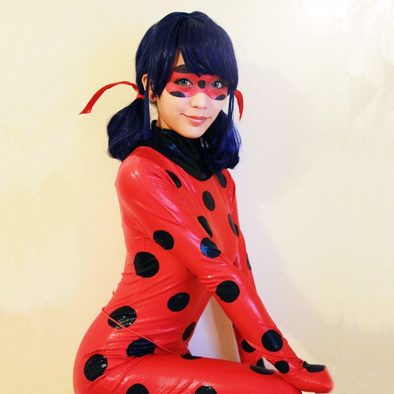 2018 new miraculous ladybug costume marinette cosplay. Black Bedroom Furniture Sets. Home Design Ideas