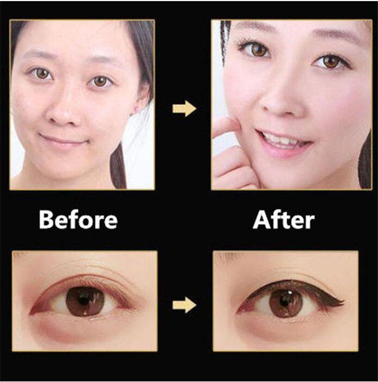Haute qualité 36H imperméable noir Eyeliner maquillage noir Eyeliner liquide Marque imperméable Beauté, comestics Eye-liner Crayon Marque Nouveau A08