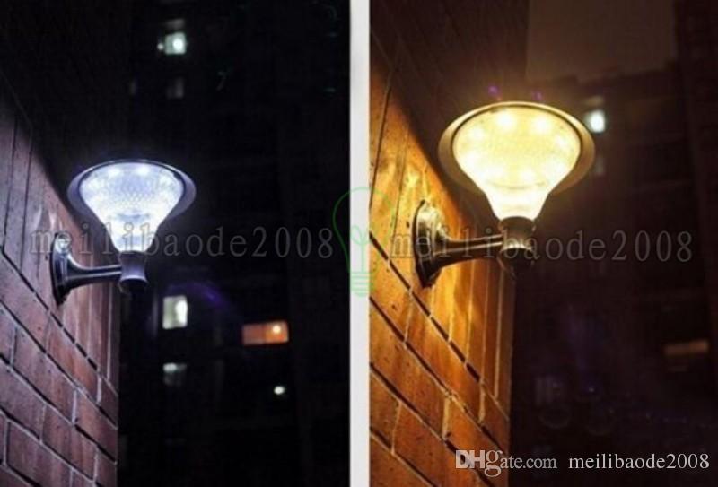 Açık Bahçe / Yard / Yolu Güneş Duvar Lambası Popüler Güneş Lambaları 3x1200 mAh Ni-Mh Pil Güneş Lambaları Dekorasyon 16LED Işık Myy