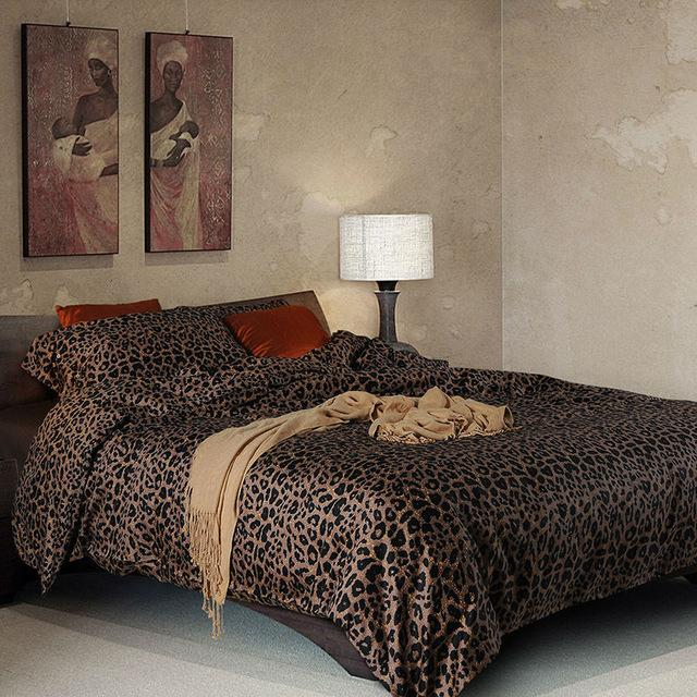 Superbe 3d Leopard Print Bedding Sets Egyptian Cotton Satin Twin Duvet Cover Queen  Size Bed Sheets Beautiful Duvet Covers Egyptian Cotton Duvet From  Lilingainiqi, ...