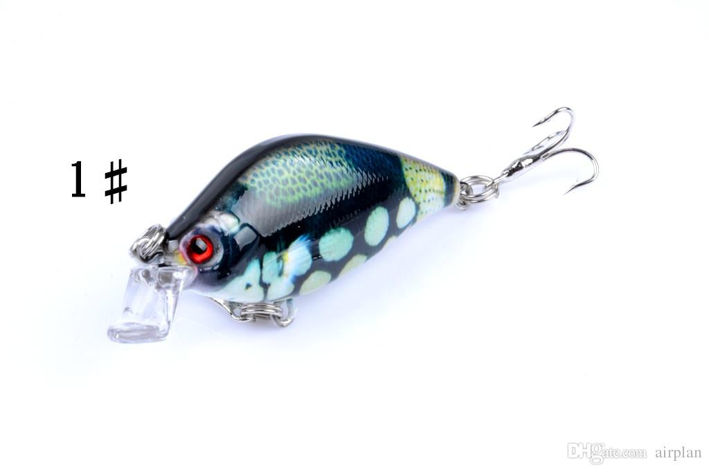 of Bionic Shade Bass Fishing Lures Bait 6.5cm, 8.5g Plastic Artificial Swimbait Fishing Pesca Tackle Hooks Fake Lures Fish