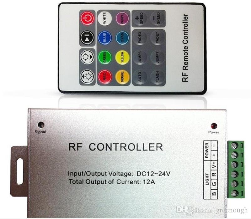 2019 dc12v 24v 3 channel 4a for each channel 12a 24a rf led remote2019 dc12v 24v 3 channel 4a for each channel 12a 24a rf led remote controller 20 key rgb wireless led mini controller for strip module string from greenough