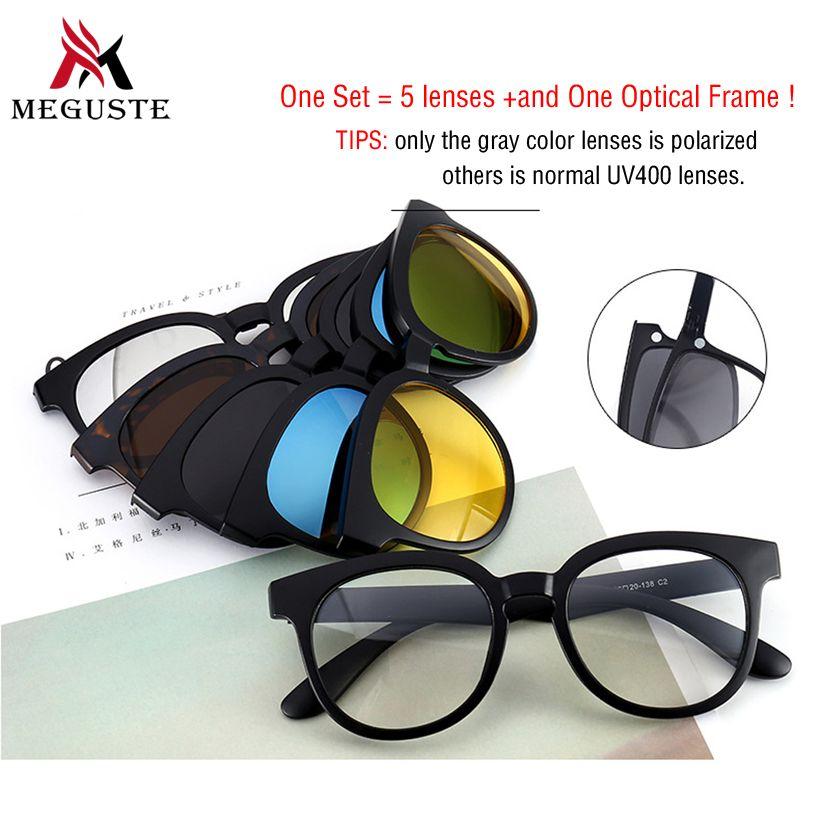 bb6420a90396 2017 Cat Eye Women Sunglasses Magnet Sunglasses Clip Magnetic ...