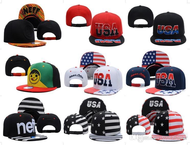 78e6619d446 2017 New Neff Headwear Skate Flat Bill Lifestyle Hat Cap