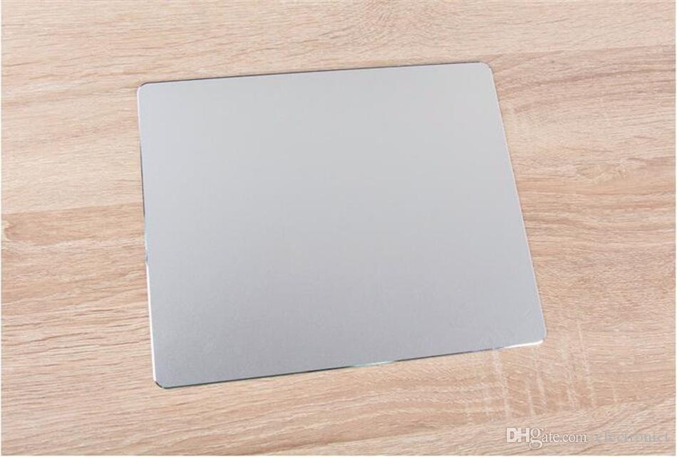 Game Mouse Pad Slim Large Aluminum Metal Computer Mouse Mat PC Laptop Gaming Mousepad for Apple MackBook for Dota Gamer