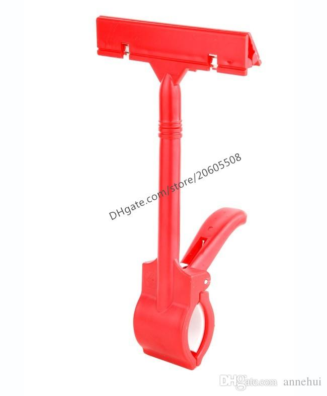 Hot sale Affordable Merchandise Retail Sign Card Price Tag Pop Display Holder Promotion Clip Clamp