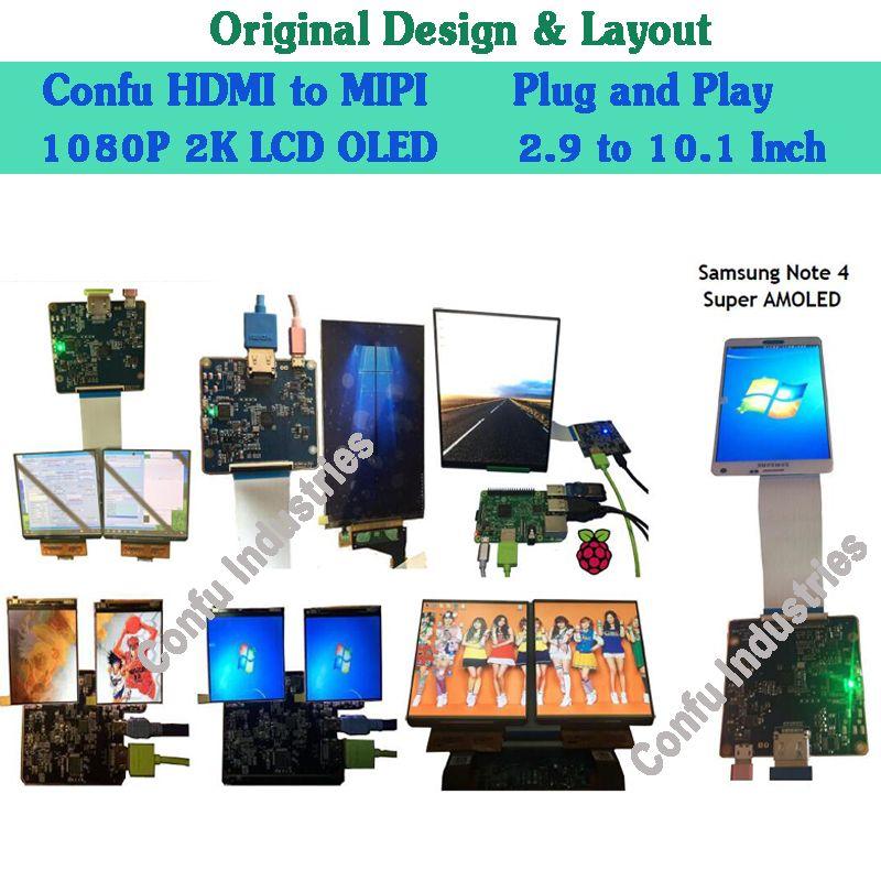 дешево купить HDMI для MIPI DSI Converter Adapter Driver Board для