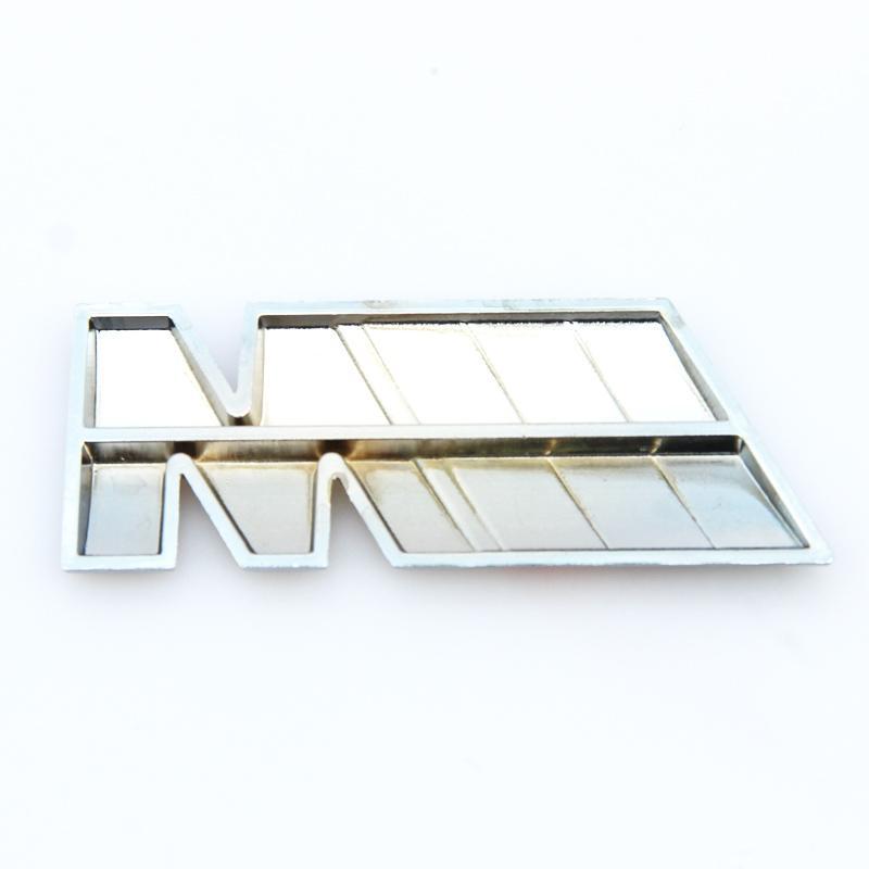 NUEVA serie M power Logo Sticker Emblem Badge Chrom 1 3 4 5 6 7 E Z X M3 M5 M6 Mline para BMW M