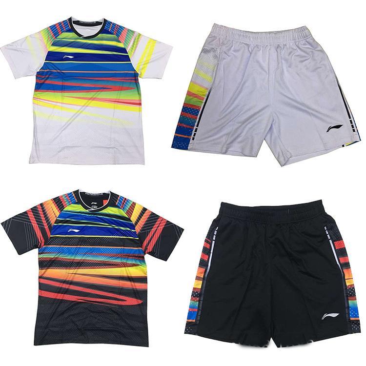 Compre 2017 Nuevos Juegos De La Camiseta Del Desgaste Del Badminton