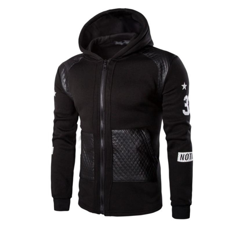 d347affdbbf 2019 Wholesale 2016 Fashion Mens Hoodies And Sweatshirts Oversized Hip Hop Men  Hooded Jackets Streetwear Zipper Tracksuit Plus Size 3XL From Hermanw
