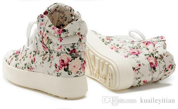 Sıcak Satış bahar erkekler ve kadınlar rahat Dantel-Up Yürüyüş ayakkabı bayanlar tuval kaliteli ayakkabı