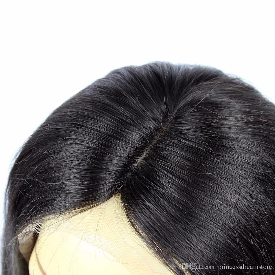 Silk Top Full Lace Wigs Human Brazilian Glueless Full Silk Base Wig Pretty Curl Silk Base Lace Front Human Wigs For Black Women