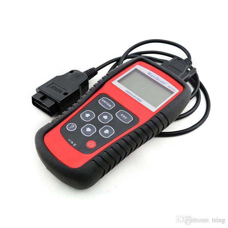 KW808 Ferramenta de Diagnóstico Do Veículo OBD2 OBDII LCD Scantool Auto Scanner de Diagnóstico Do Caminhão Do Computador Leitor de Código de Falha do Veículo Digitalizar