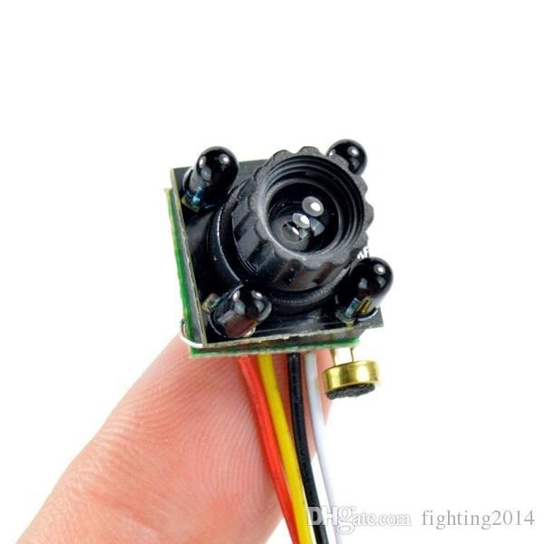 HD 700TVL البسيطة الثقب الدوائر التلفزيونية المغلقة الكاميرا 4 المصابيح للرؤية الليلية الأمن مايكرو كاميرا 1/4