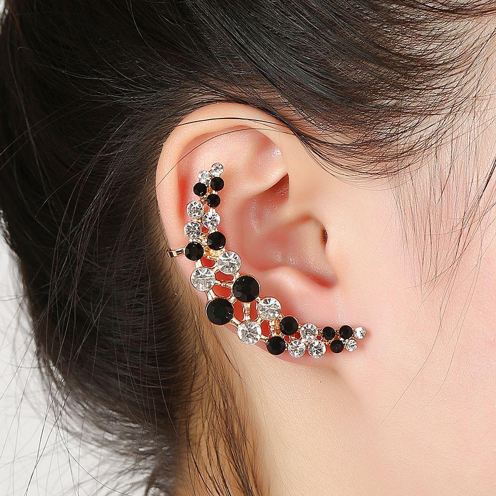 Правое и левое ухо клип мода серьги Earcuff шпильки клип девушка уха манжеты женщины ювелирные изделия мужчины панк партия подарки