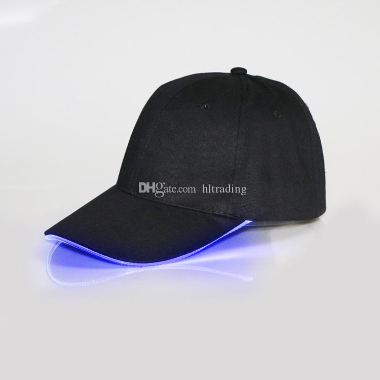 Cadılar bayramı büyük çocuk erkek kadın LED Kap pamuk Beyzbol şapka moda Parlayan sivri kapak DHL C2563