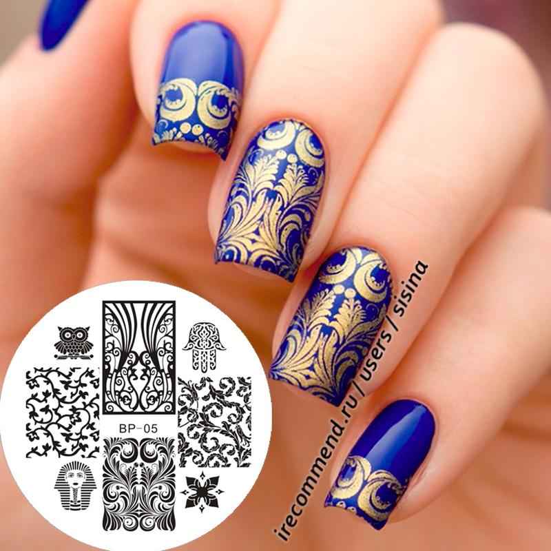Wholesale Egypt Style Owl Nail Stamping Plates Nails Art Stamp Template  Image Plate Bp 05#16852 Nails Art Design Glitter Nail Art From Carloas, ... - Wholesale Egypt Style Owl Nail Stamping Plates Nails Art Stamp