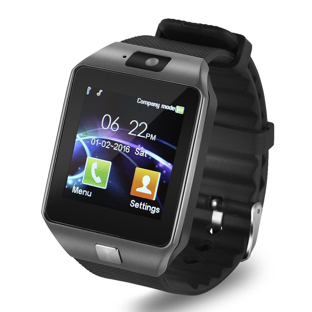 Купить Оптом Смарт Часы DZ09 Цифровой Запястье Мужчины Bluetooth Электроника  Сим Карта Спорт Smartwatch Для IPhone Samsung Android Телефон ... d083bf21c3fbf