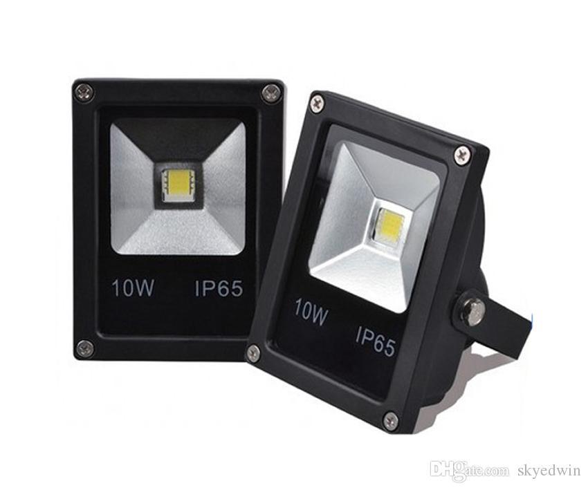 AC85-265V 12V LED Flood Light LED Floodlight 10W DC12V 24V 100-110LM/W Thick Housing 3 Years Warranty Super Bright