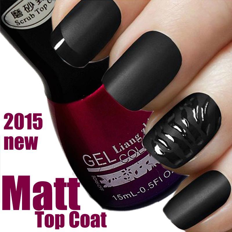 Wholesale 2016 New 15ml Matte Top Coat Matt Intense Seal Protect Dry ...