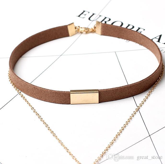 Nouveau style collier multi-couche gland collier WFN272 avec chaîne mélanger l'ordre 20 pièces beaucoup