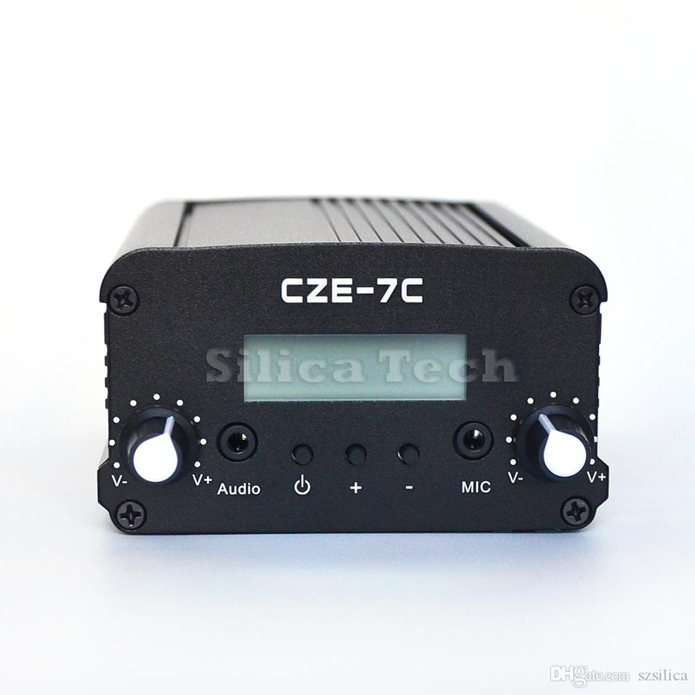 Tracking Fm Transmitter Schematics Cze 7c 7w Stereo Pll Broadcast Radio Station Tnc Port Online With 5486 Piece On Szsilicas Store