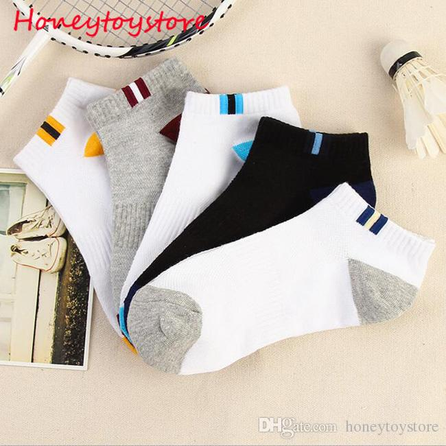 Hot sale Cotton Men socks men's short low cut crew socks mesh type Blends male casual Ship Short Ankle Socks