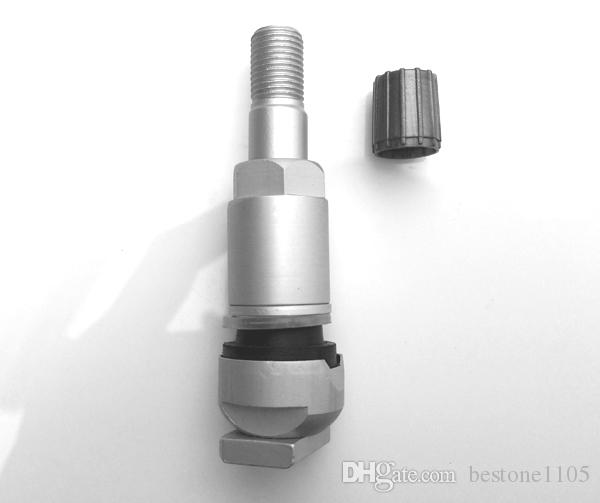 Aluminum TPMS Tire Valve for Jeep Mercedes Alloy Tubeless Valve for Tyre Pressure Monitor System Sensor Valve Repair Kit