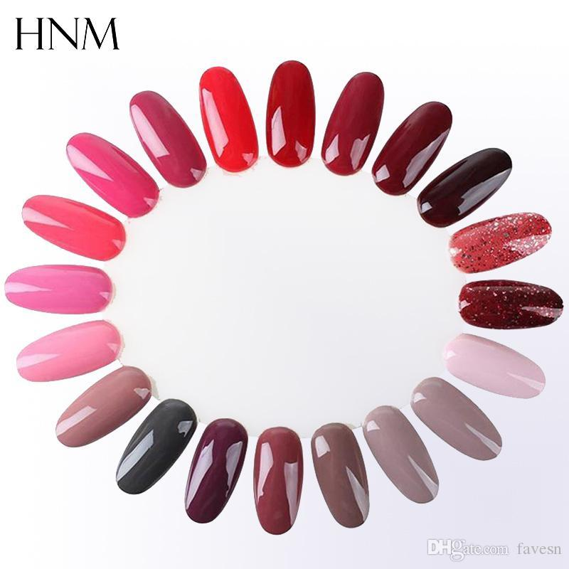 Wholesale Hnm Clear Transparent False Nail Tips Display Model For ...
