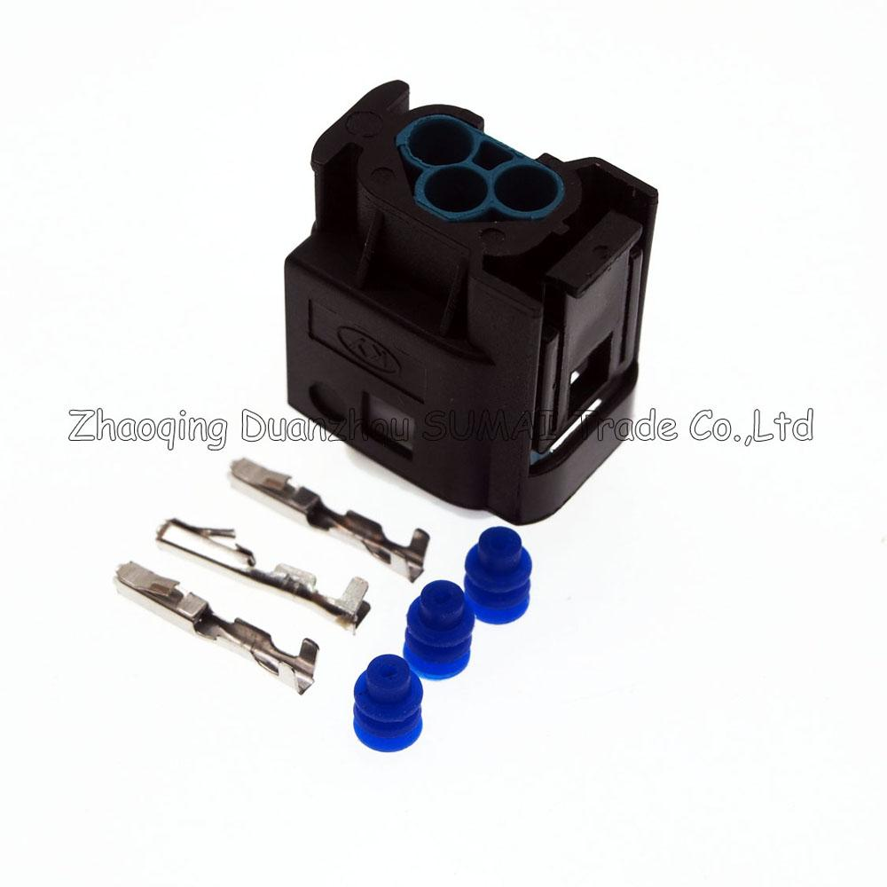 TE/AMP 3 Pin/way auto restrictor sensor plug connector,Throttl/Taillight plug,auto waterproof electrical plug for BMW