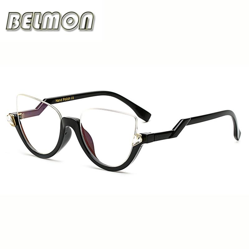 2018 Wholesale Eyeglasses Frame Women Computer Optical Decorative ...